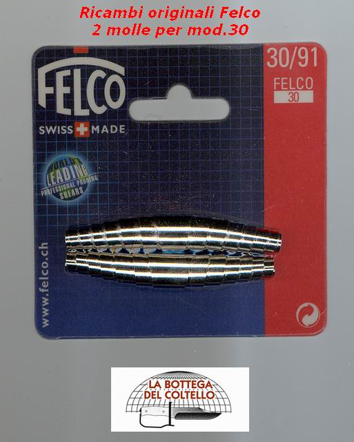 Two springs for Felco 30 pruning shears