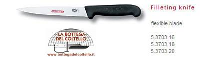 Coltello per filettare pesci