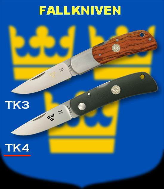 Fallkniven TK4 folding knife
