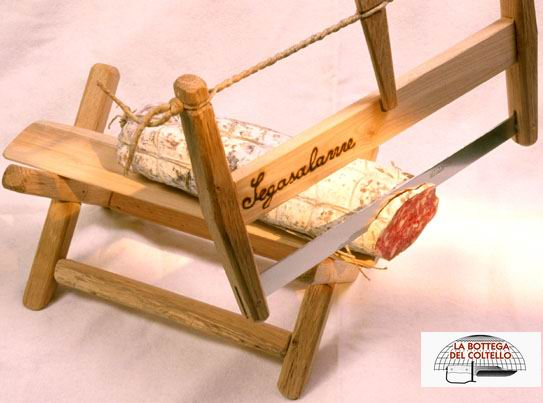 Sanelli segasalame affetta salame la bottega del coltello - Ghigliottina affetta salame ...