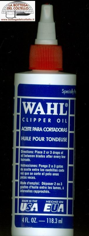 Wahl Olio per lame tosatrici