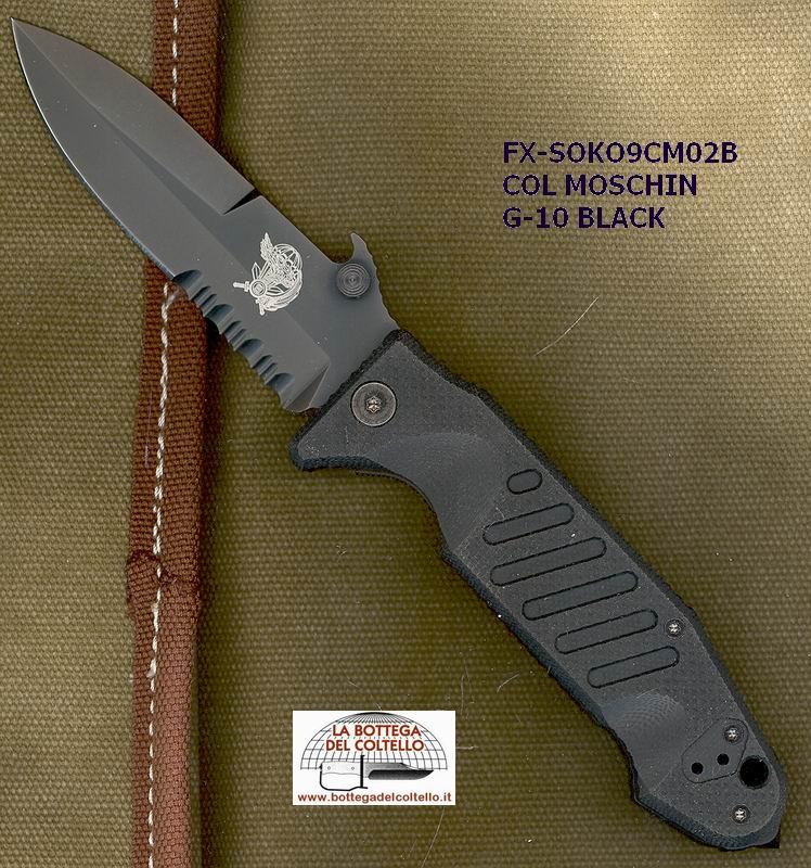 Col Moschin Folder Sx Soko9cm02b La Bottega Del Coltello
