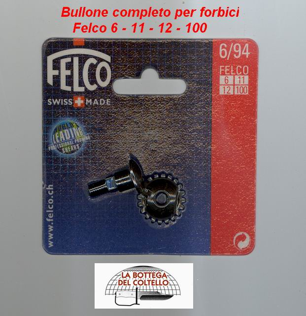 Bolt for Felco 6-11-12-100 pruning shears