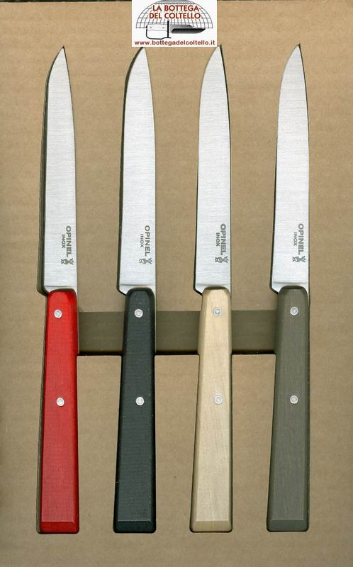 Esprit loft 4 coltelli da tavola 125 la bottega del coltello - Coltelli da tavola montana ...