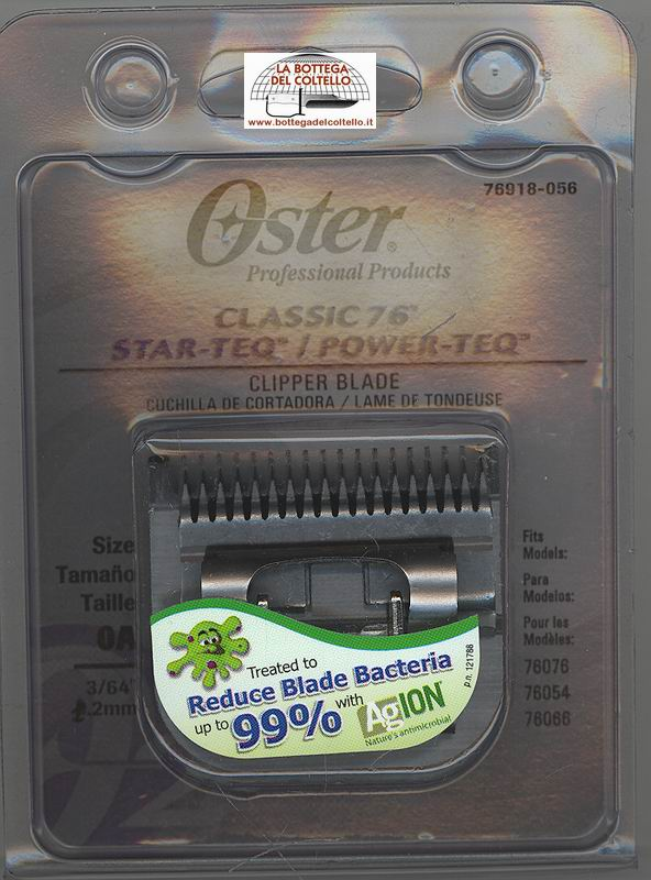 Clipper blade 76918-076 mm 1.2