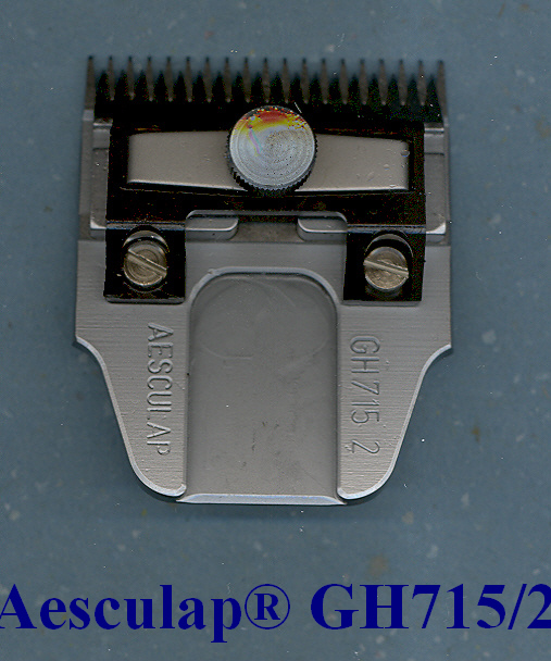 Aesculap Germany clipper blade GH 715