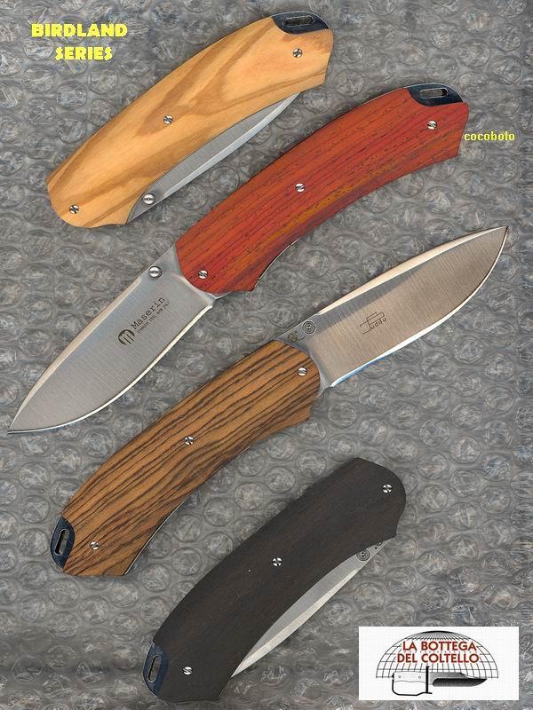 Coltello da caccia 396 co coccobolo la bottega del coltello - Coltelli da tavola lama liscia ...