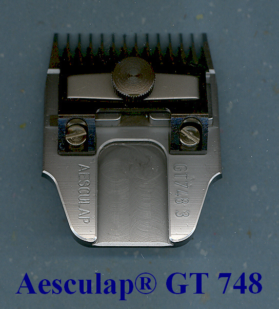 Aesculap Germany Clipper blade GT 748
