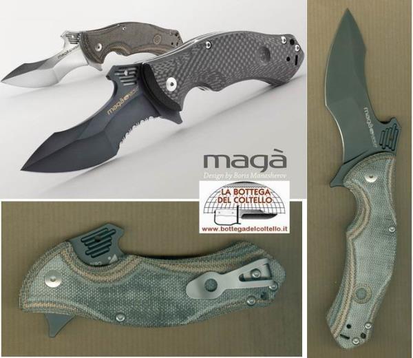 Viper Folding knife canvas micarta mix