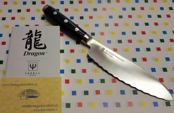 Dragon Yaxell sandwiches knife