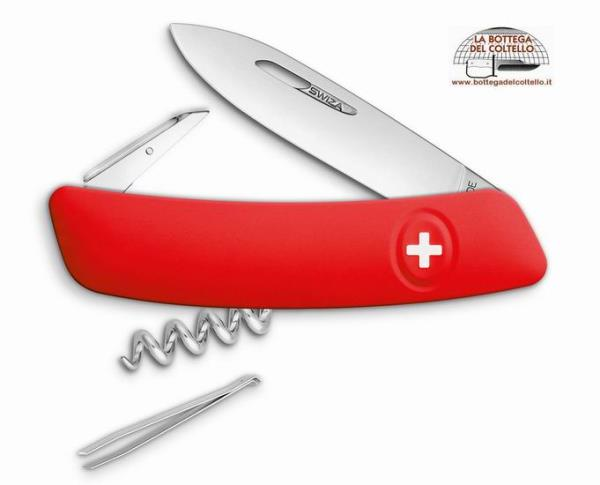Swiss Knife SWIZA D01 red