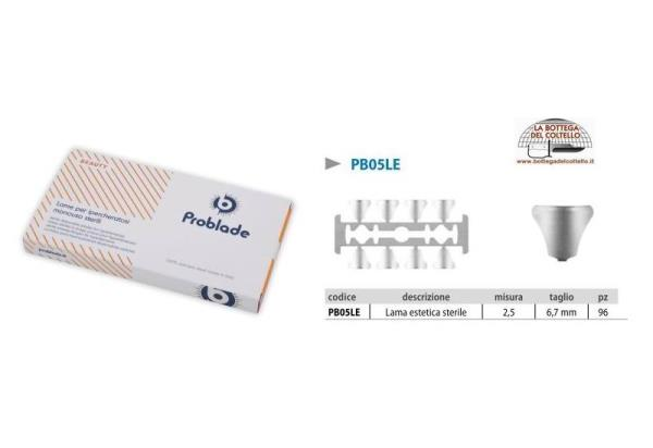 Sterile disposable blades Problade 2,5