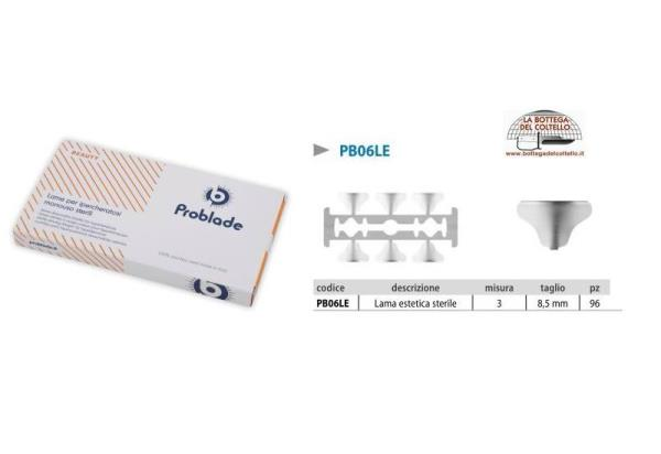 Sterile disposable blades Problade 3