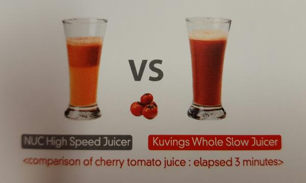 Kuvings Slow Juicer 6000 estrattore di succo La bottega del coltello