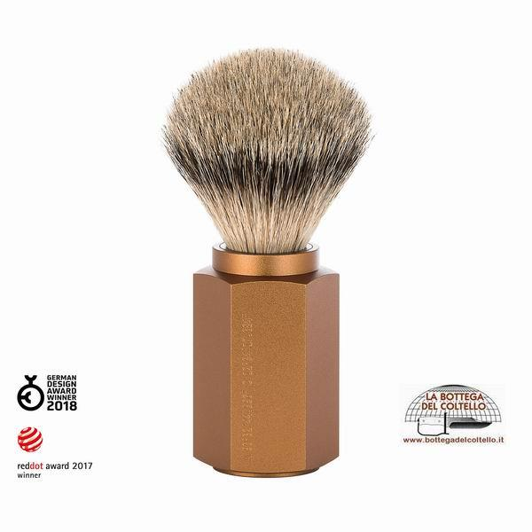 Silvertip badger shaving brush bronze