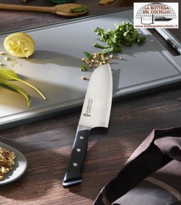Santoku coltello da cucina cordon bleu la bottega del - Coltello da cucina ...