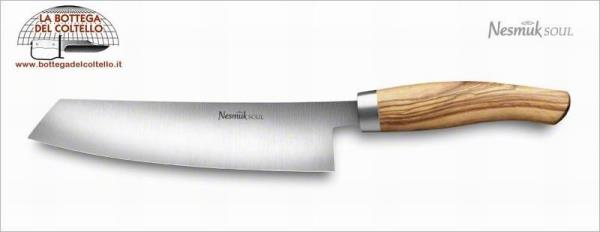 Nesmuk Soul Chef's knife olive handle