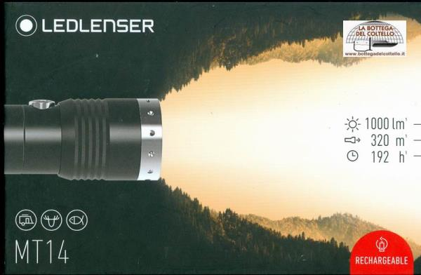 Torcia potente Led Lenser MT14