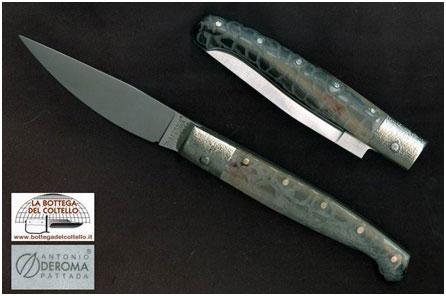 Vendita online coltelli pattada la bottega del coltello for Coltelli antichi italiani