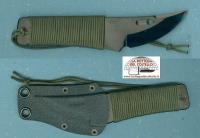 Neck Knife Rockstead Chou basic green silk string