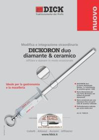 Dick Acciaino Duo diamante e ceramica
