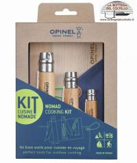 Travel and outdoor cooking kit Opinel