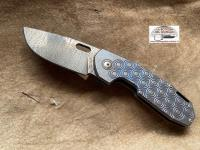 Viper Odino damascus folding knife